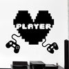 Vinyl Wall Decals Gaming Gamer Wall Sticker For Playroom Living Room Bedroom Home Decoration
