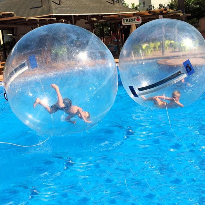 JIA INF 1.3 3m PVC Inflatable Water Walking Ball Wear resistant Water Toys Dance Ball with Zipper for Swimming Pool Outdoor|Water Play Equipment|Sports & Entertainment