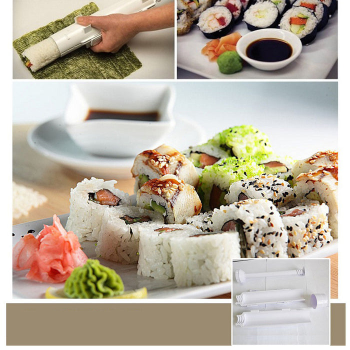 Automatic Sushi Maker Rolling Sushi Mold Japanese Roll Rice Mold Bazooka LootDash
