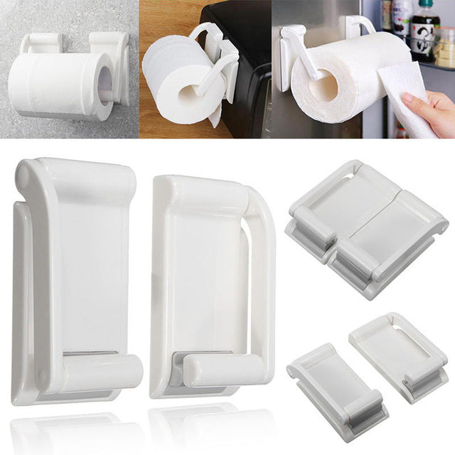 Magnetic Paper Towel Bathroom Hold Holders Kitchen