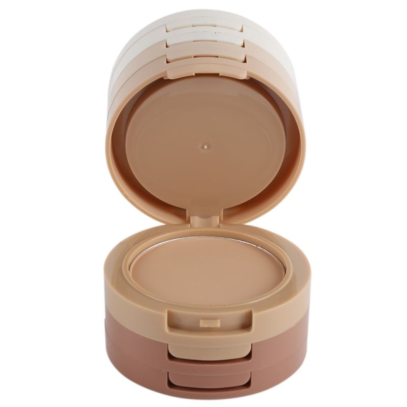 Maquiagem 5 Layer Fabulous Dry Wet Pressed Face Makeup Powder Make Contour Powder Palette Skin Finishing Natural Concealer on LootDash