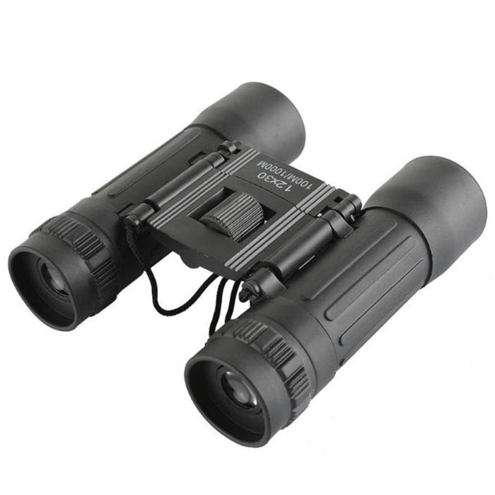 New 12X30 Optical Zoom Field Glasses Telescopes Clear View Outdoor Tool Red Film Hunting HD Binoculars Adjustable Focal Length