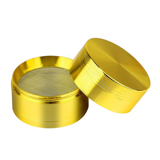 New 4-layer Aluminum Herbal Herb Tobacco Grinder