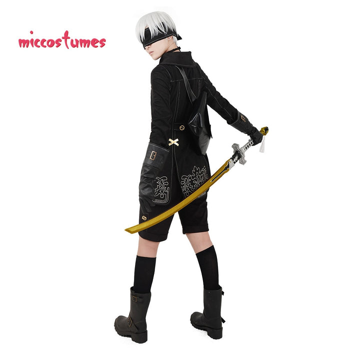 Nier Automata YoRHa No.9 Type S 9S Cosplay Men Costume - Lootdash