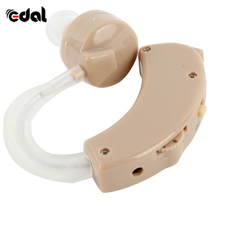 Portable Old Aid Hearing earphone Tone Hearing Aids Aid Kit Behind The Ear Sound Amplifier Sound Adjustable Device Time limited