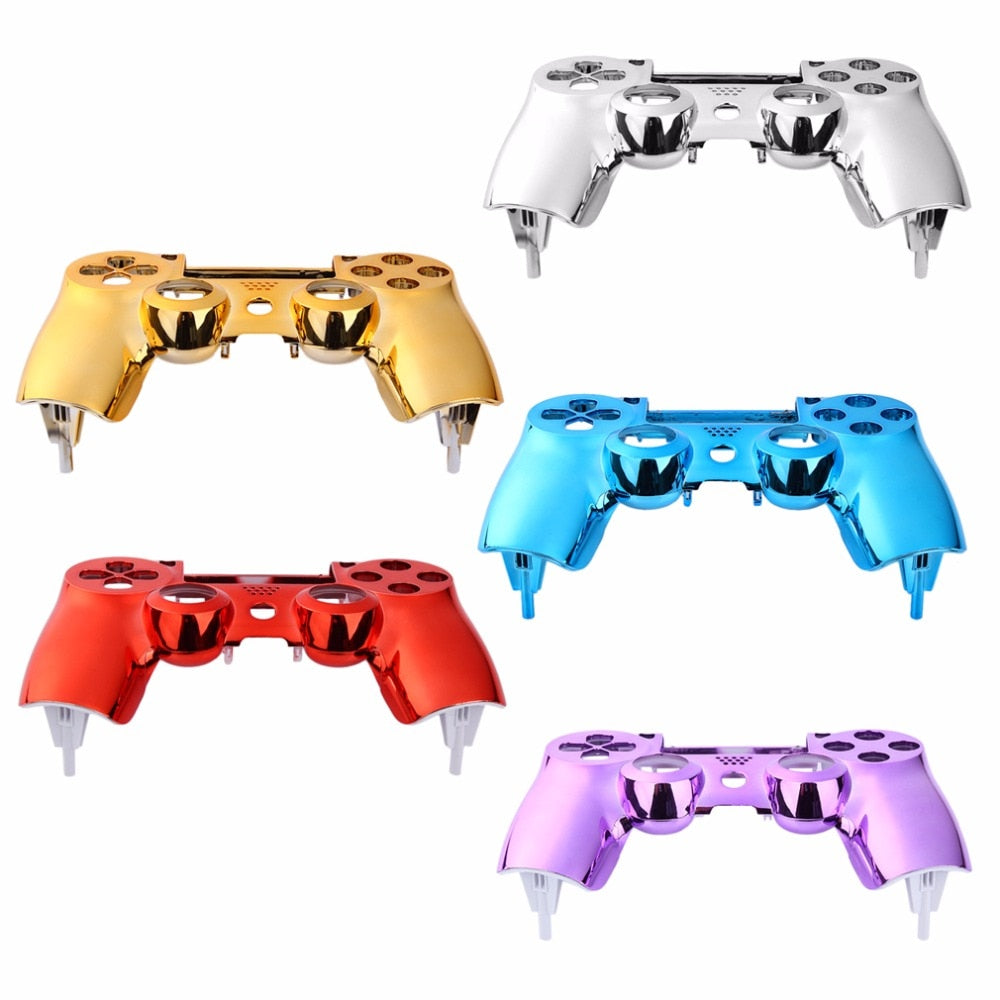 Replacement Plating Front Housing Shell Case Cover For PlayStation DualShock 4 PS4 Controller on LootDash