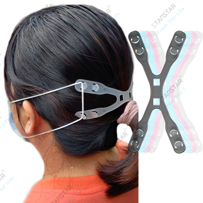STANSTAR Mask Hooks 2nd, Ear Protector Adjustable Lengthened Mask Gadget to Relieve Ear Pain