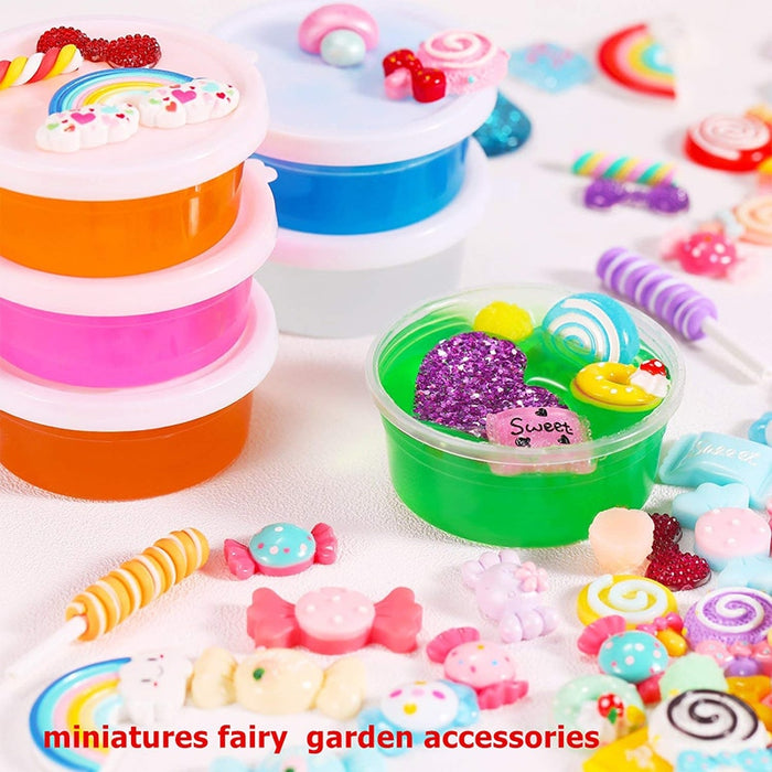 Slime Additive Fake Sprinkles For Filler Slime Supplies All Diy Dessert Chocolate Beads Clay Mud Slime Cake Decoration Toys LootDash