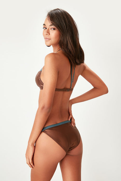 Trendyol With Color Block Bikini Six TBESS19MN0096