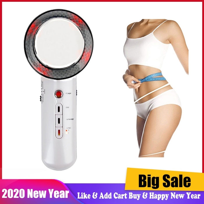 Ultrasound Cavitation Body Slimming Massager Fat Burning Weight Loss EMS Infrared Therapy Face Beauty Machine Slimming Device|Massage & Relaxation