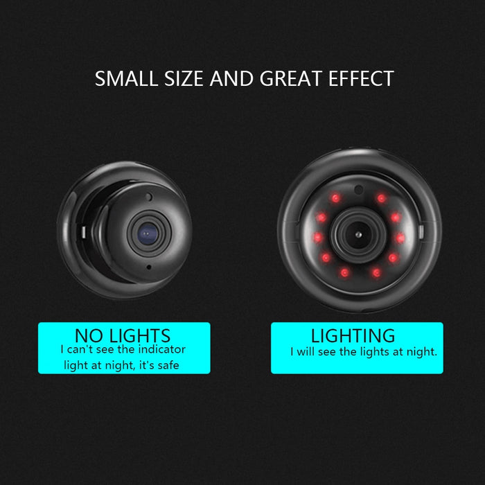 Wireless Mini IP Camera 720P 1080P HD IR Night Vision Micro Camera Home Security Surveillance WiFi Detect Baby Monitor Camera