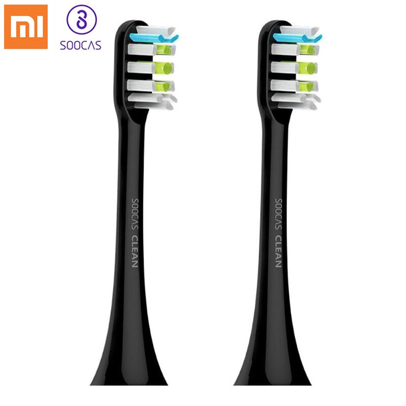 Xiaomi 4pcs SOOCAS Replacement Toothbrush Heads for SOOCAS / Xiaomi SOOCARE X3 Electric Toothbrush SOOCARE X3 Tooth Brush Heads
