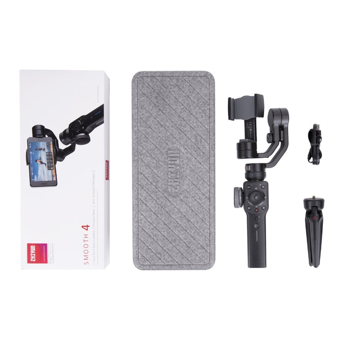 Smooth Stabilizer for Phone, for iPhone X Xs Max, Samsung S8 & Action Camera, 3 Axis Handheld Smartphone Gimbal- Lootdash