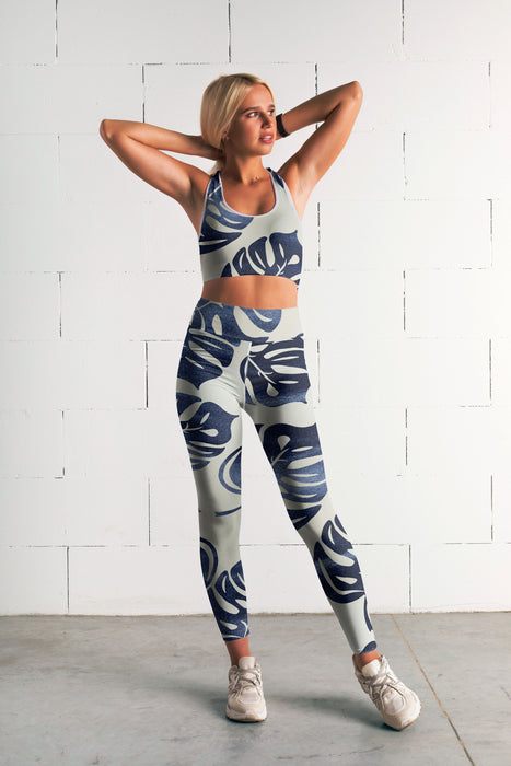 Palm Leaf Fitness Set