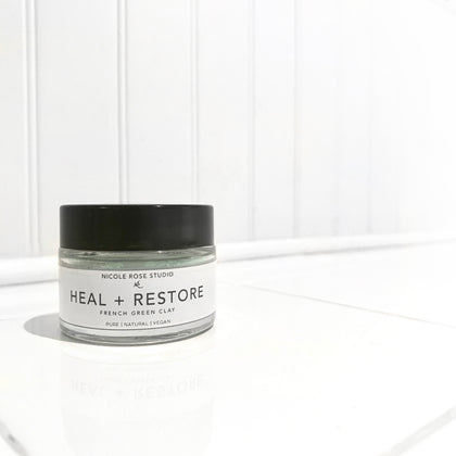 Heal + Restore French Green Clay Mask