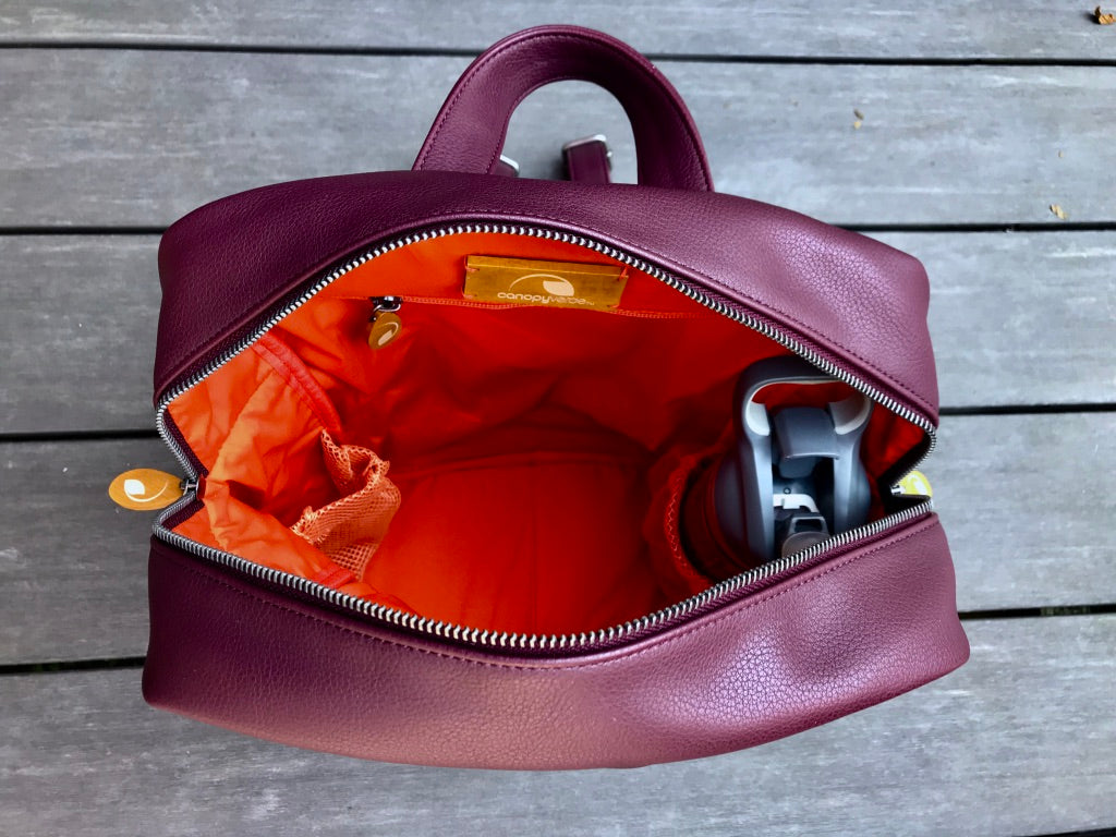 Lenox Vegan Leather Backpack