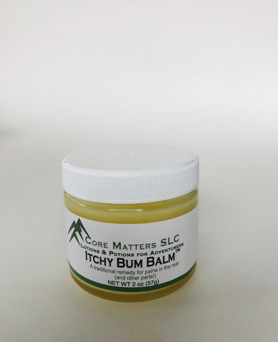 Itchy Bum Balm - gentle balm perfect to use on