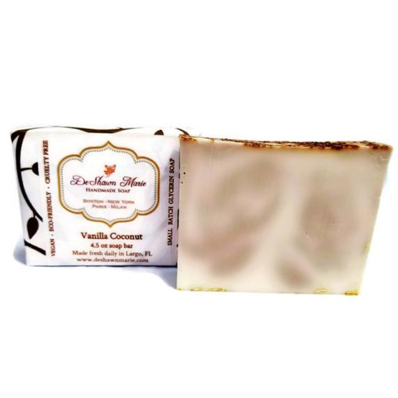 Vanilla Coconut Soap Handmade Soap Vegan Soap