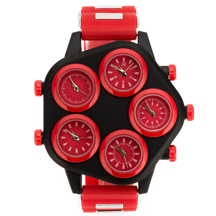 Multiple Time Zone Luxury Big Face Watch Timepie LootDash