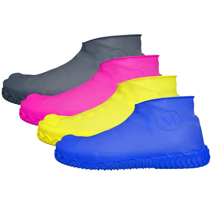 practical Silicone Waterproof Shoe Cover durable Outdoor Rainproof Hiking Skid proof Shoe Covers home accessories appliance