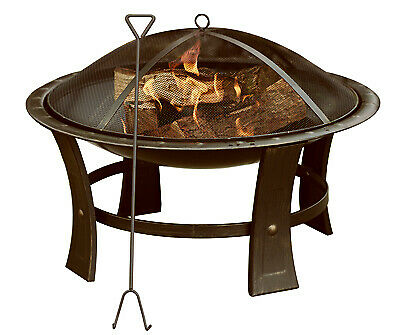 Round Fire Pit, 29-In.