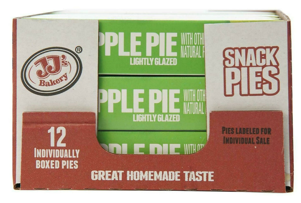 JJ's Bakery Apple Snack Pies 12 Pack 48 OZ