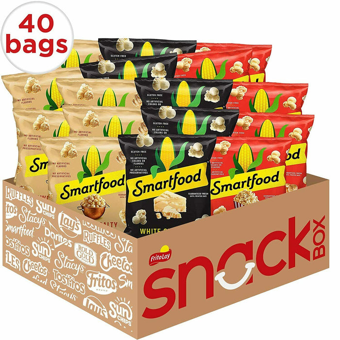 Smartfood Popcorn Variety Pack, 40 Count