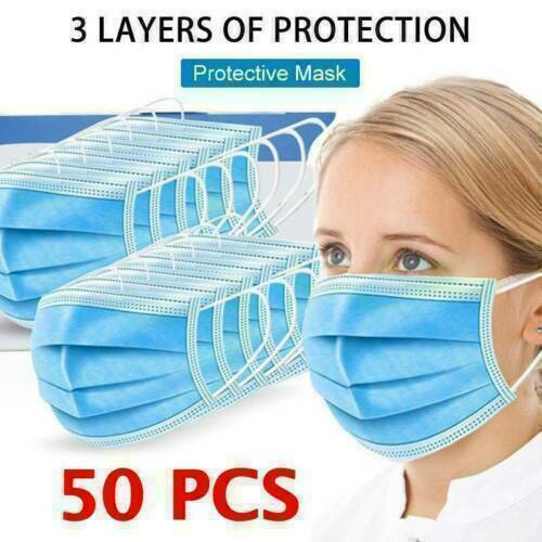50 TO 200 PIECES FACE MOUTH NOSE PROTECTIVE | LootDash