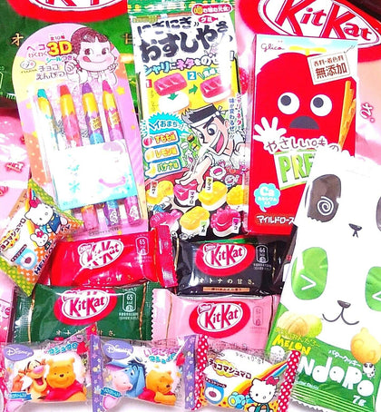 JAPANESE CANDY DAGASHI Sushi Gummy,Pencil Chocolate,KitK