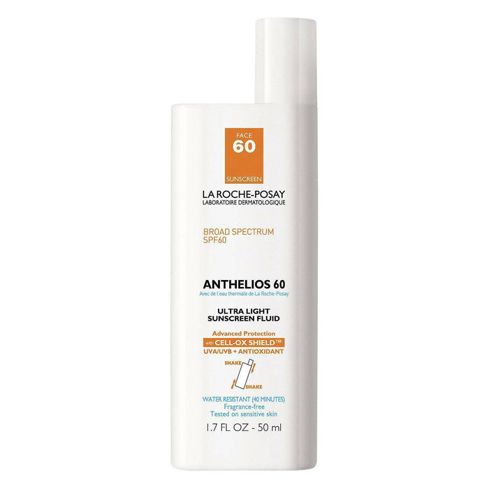 La Roche-Posay Anthelios 60 Ultra Light Sunscreen, SPF60 1.7 fl oz
