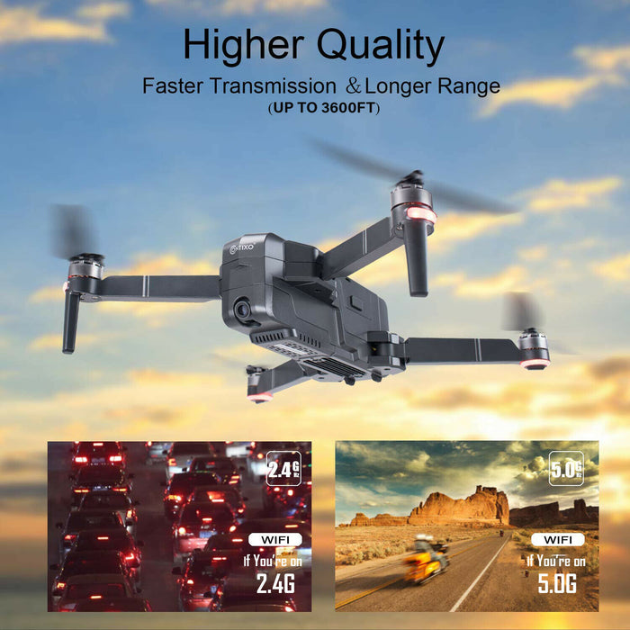 Contixo Best F24-Pro FPV GPS Drone with 4K UHD Camera Quadcopter Follow Me