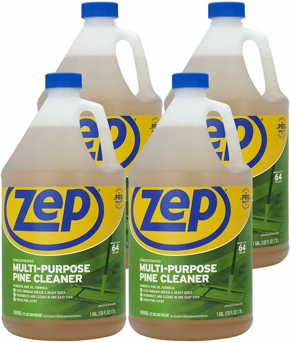 Zep Pine Multi-Purpose Cleaner 128 Oz ZUMPP128 (Case of 4) Commercial Strength