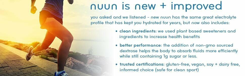 NUUN Sport, NUUN Vitamins, Hydration Electrolyte Replacement Tabs FREE Shipping