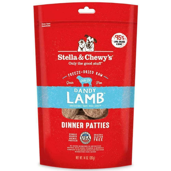 Stella & Chewy Freeze Dried 14oz Lamb