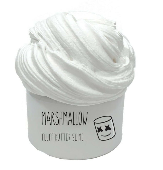 8oz Marshmallow Fluff Butter Slime (FREE SHIPPING!)