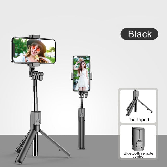 Wireless Bluetooth Selfie Stick For iPhone 11 Pro 7 8  For Samsung Galaxy Foldable Handheld Monopod Shutter LootDash