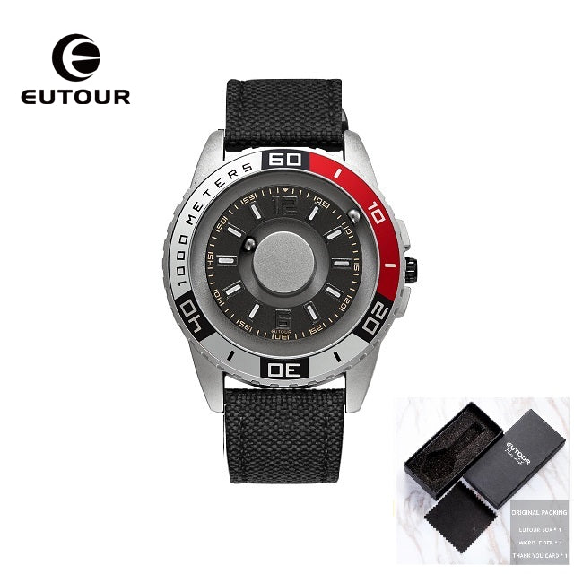 EUTOUR New Simple Strap Magnetic Watch