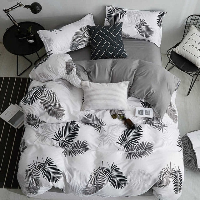 SlowDream Cactus Bedding Set Bedspread Bed Linens Euro Bedclothes Double Double Queen King Duvet Cover Set Bed Sheet LootDash