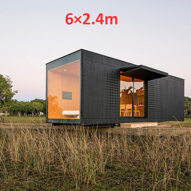 prefab Guest house Slant Roof Pitch or Flat LootDash