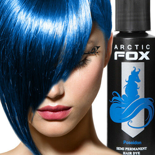 ARCTIC FOX 100% Vegan Semi Permanent Hair Dye Hair Color 4 oz 22 Colors