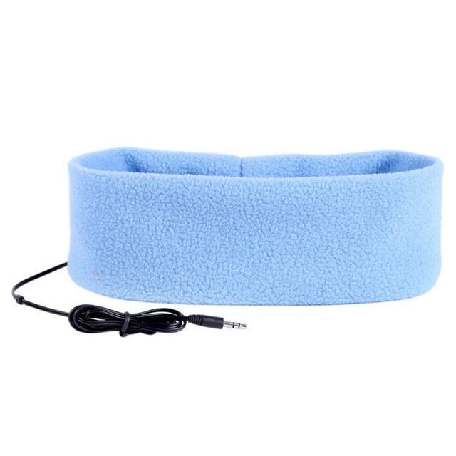 Anti Noise Sports Running Ashable Sleeping Earphones Bundle Music Headband Sleep Mobile Phone Headphone For IPhone7/8/X Samsung