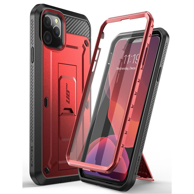 "For iPhone 11 Pro Case 5.8"" (2019) SUPCASE UB Pro Full Body Rugged Holster Case Cover with Built in Screen Protector & Kickstand"