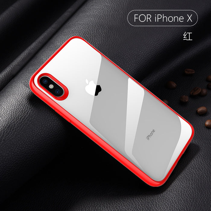 Protective phone case for iPhone x 10 8plus 7plus xr xs cases back cover