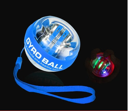 30LBS Strengthen LED Wrist Ball Super Gyroscope powerball self starting Gyro arm force trainer Muscle Relax Gym Fitness