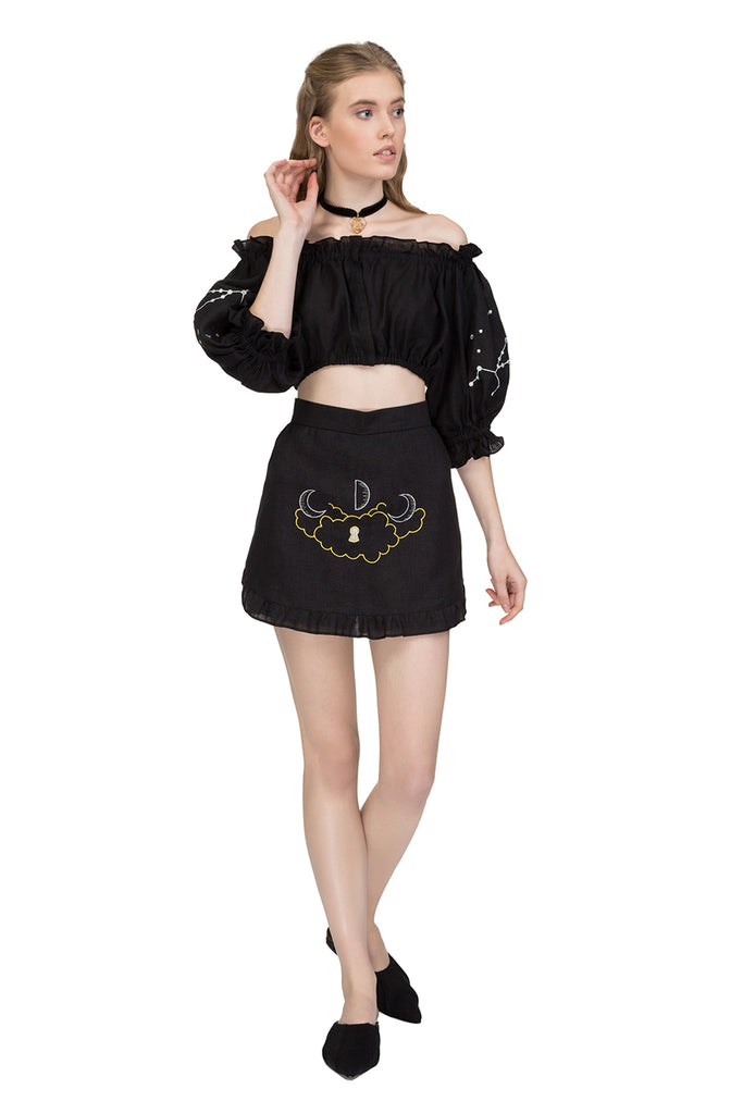Mystic  mini skirt