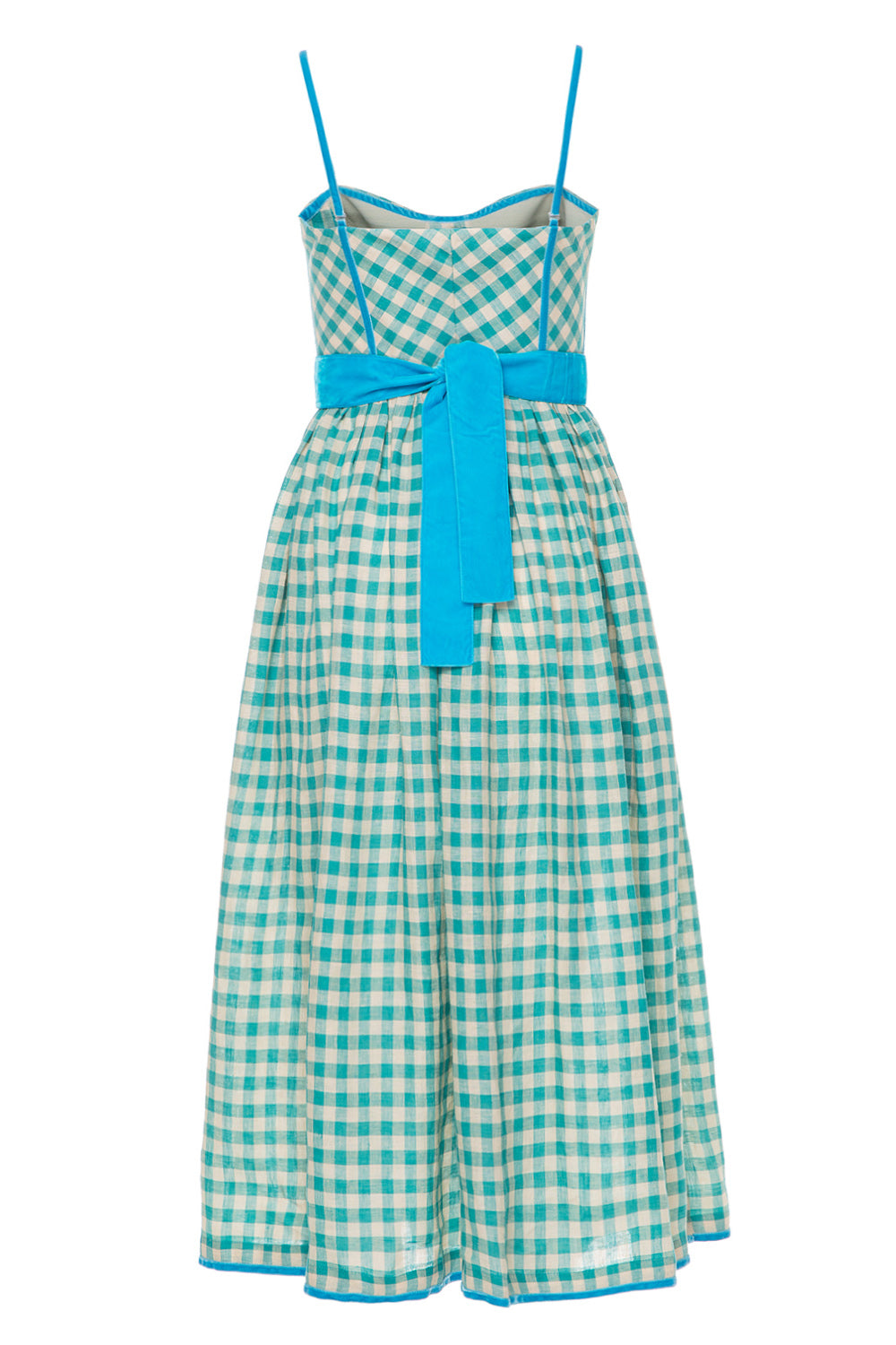 Mint Candy Checked dress