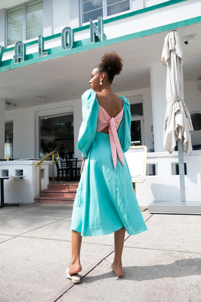 Mint Candy dress