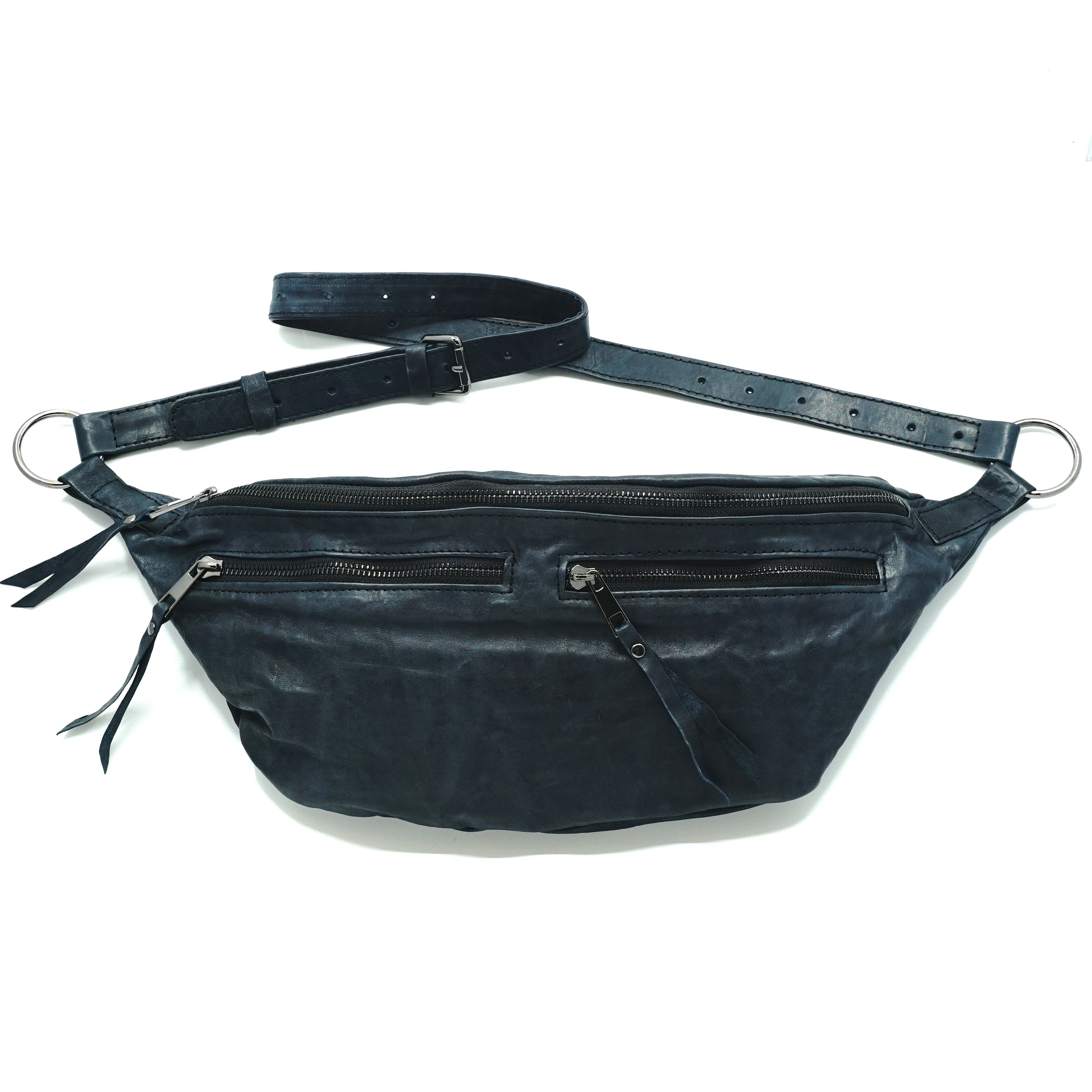 The Everywhere Bag #10 — Deep Slate Blue with Gunmetal