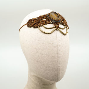 The Queen Off Duty Headdress/Choker - #36
