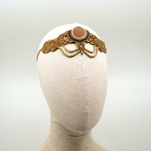 The Queen Off Duty Headdress/Choker - #43